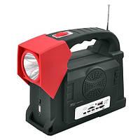 Переносной аккумуляторный фонарь / фонарик LUXURY 2887, 2W+24SMD, радио, power bank