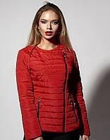 Красная куртка для уверенных девушек