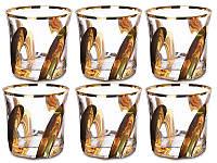 Набор стаканов Some Decorazione Золотой лепесток 6 штук 103-409