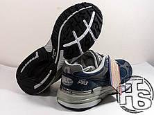 Мужские кроссовки New Balance 993 USA Blue WR993NV. Любимые кроссовки Джобса, фото 3