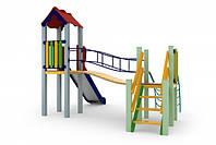 Детский игровой комплекс Луна, высота горки 1,2 м