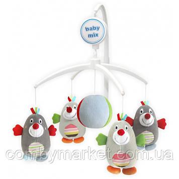 Музыкальный мобиль Baby Mix Пингвины 350М