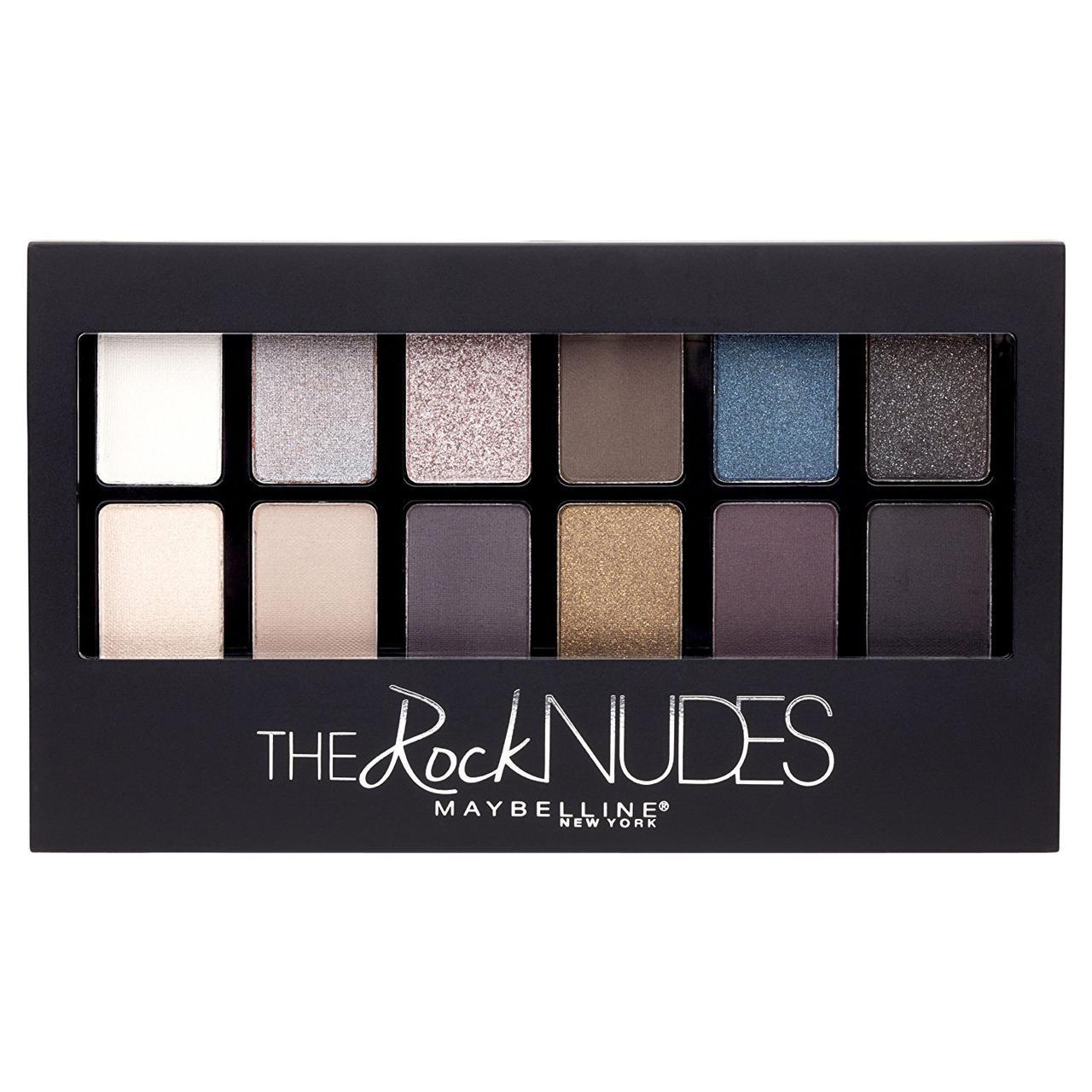 Палетка теней Maybelline The Rock Nudes Eye Shadow Palette