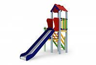Детский игровой комплекс Уют, высота горки 1,5 м
