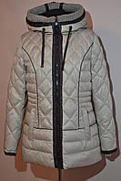 Зимняя куртка Mishele с вязаным воротником на тинсулейте 8801 50 размер