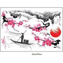 """Наклейка на стену, виниловые наклейки """"Цветущая сакура - Япония!"""" 1м20см*1м50см (лист90*60см), фото 2"""