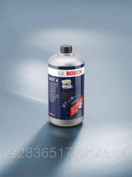 Тормозная жидкость BOSCH DOT4  1L