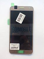 Дисплей + сенсор (модуль) Samsung J700H/ DS Galaxy J7/ J700F золото сервисный оригинал GH97-17670B