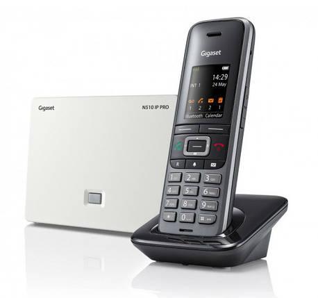 Комплект DECT IP базовая станция и DECT трубка Gigaset S650 IP PRO, фото 2