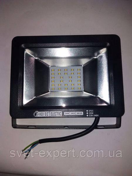 Прожектор IP65 SMD LED 20W 6400K 1000lm 220-240v