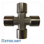 Крестовое пневматическое соединение с внутренней резьбой 1/4 S1283/2 Airkraft