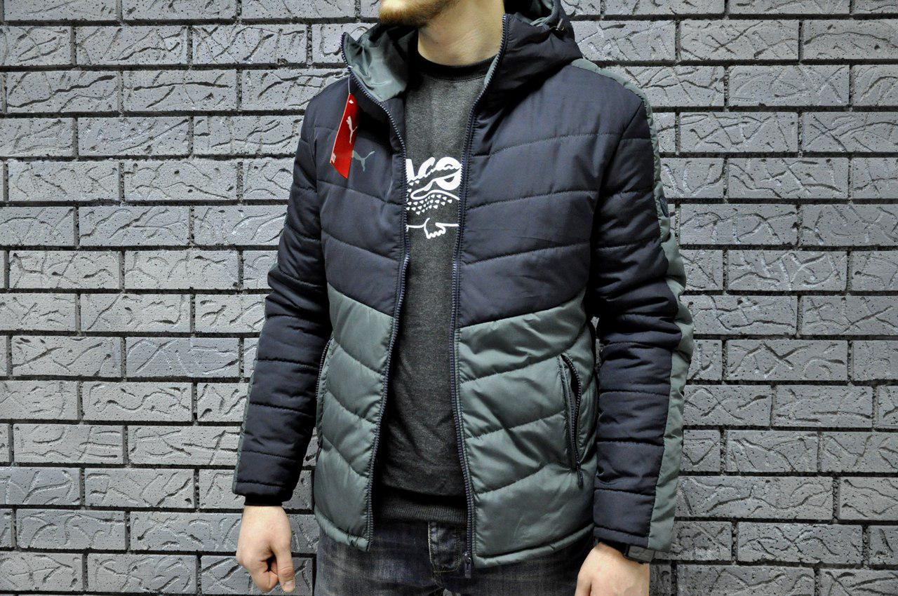 Мужская весенняя осенняя куртка пума (Puma) реплика 58ebc24b65421