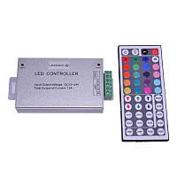 RGB Радио контроллер музыкальный 6A (18 кнопок на пульте)44 кнопки на пульте)
