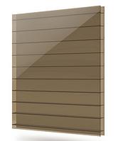 Сотовый поликарбонат TM Solidplast бронзовый 4мм