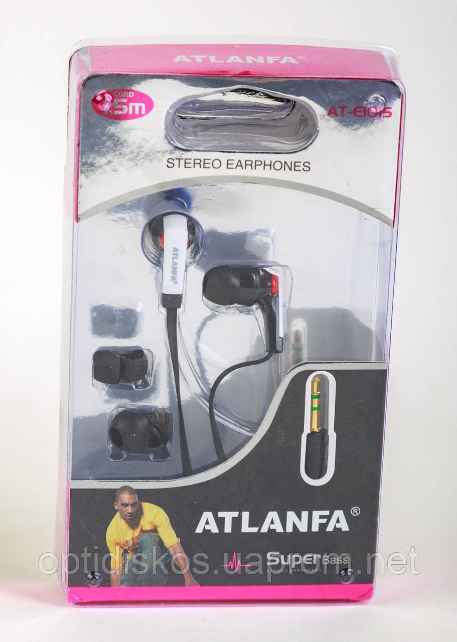 Наушники вакуумные Atlanfa AT-1015