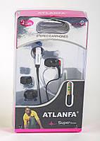 Наушники вакуумные Atlanfa AT-1015, фото 1