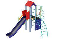Детский игровой комплекс Маяк, высота горки 1,5 м