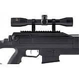 Пневматическая винтовка Beeman Bison Gas Ram с газовой пружиной и оптическим прицелом 4X32 в комплекте, фото 5