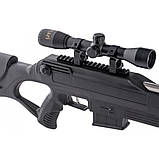 Пневматическая винтовка Beeman Bison Gas Ram с газовой пружиной и оптическим прицелом 4X32 в комплекте, фото 6