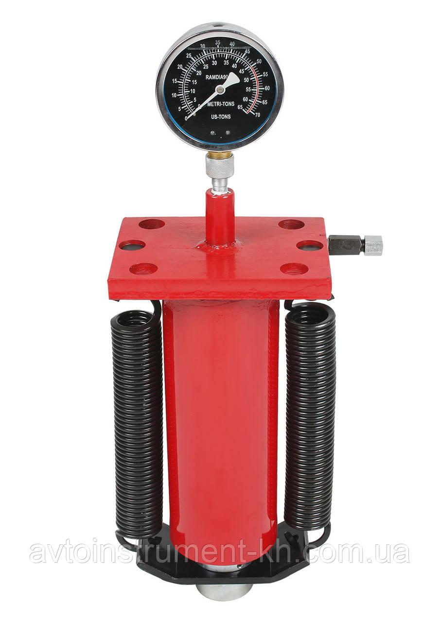 Цилиндр для пресса гидравлический с манометром 50 т 97330