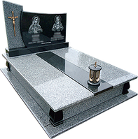 Гранитный памятник для двоих (Образец  850)