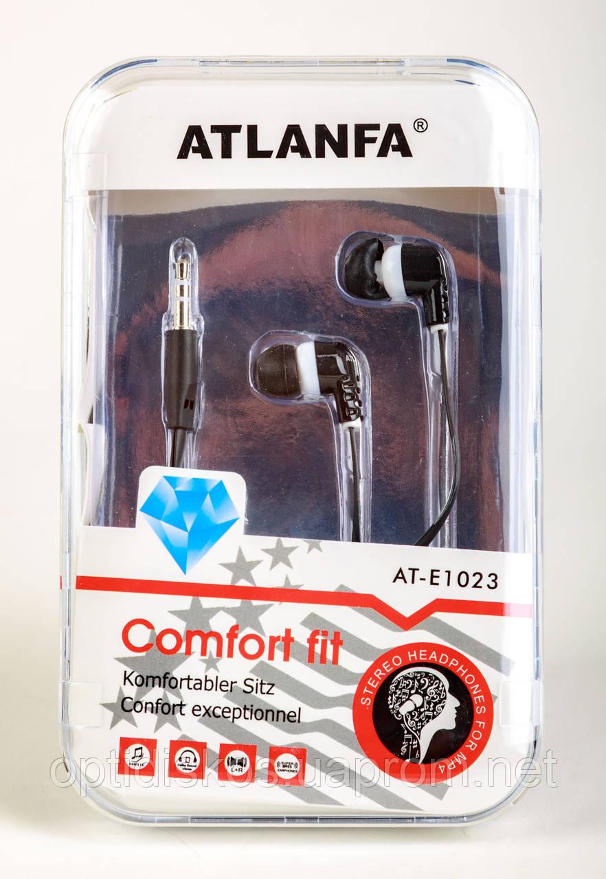 Наушники вакуумные Atlanfa AT-1023