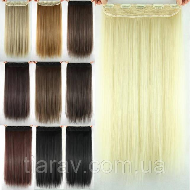 Волосы на заколках ТЕРМОСТОЙКИЕ волосы 60 см трессы