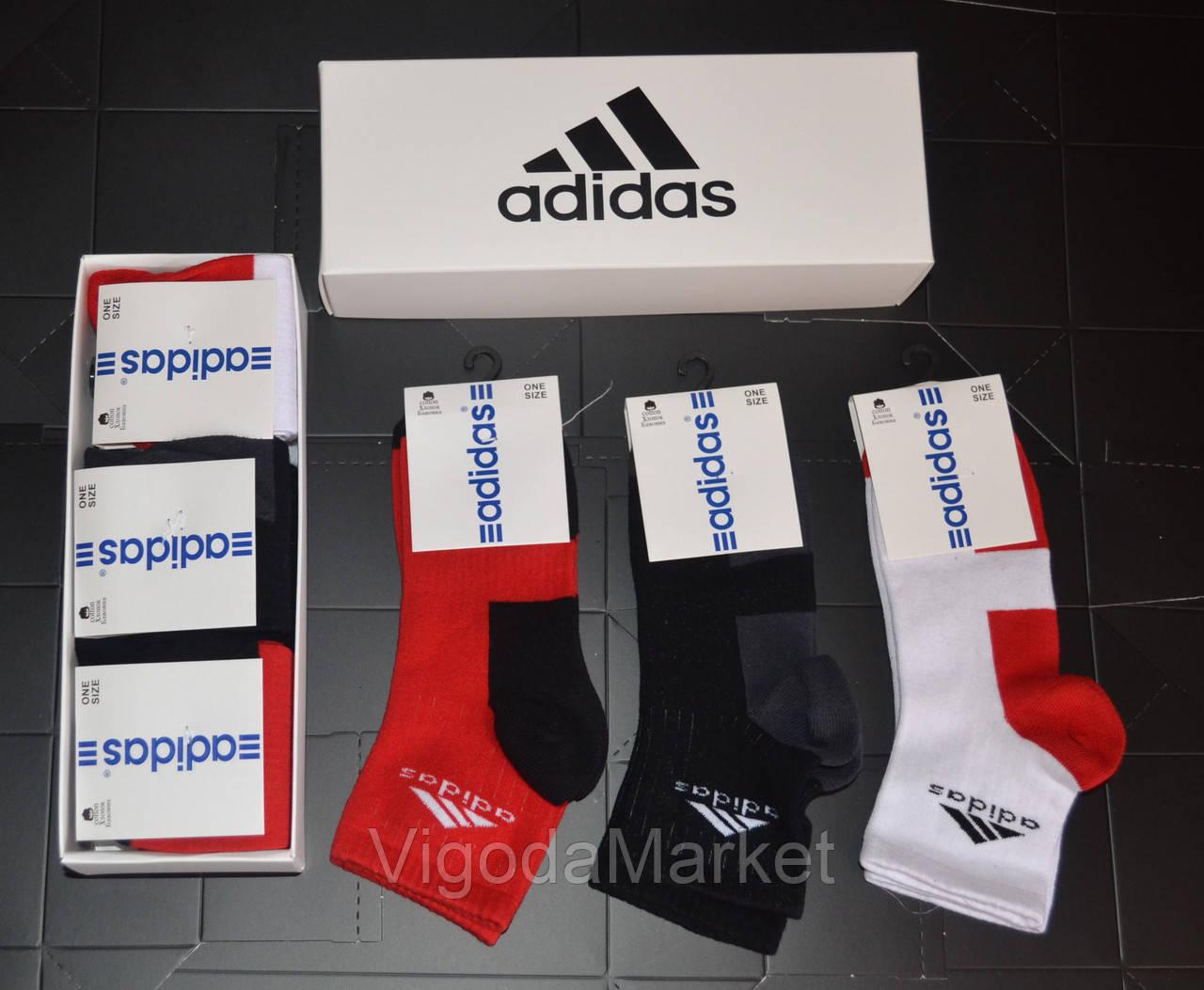 Носки Adidas набор 6 пар. - VigodaMarket в Хмельницком 3bd573644abd1