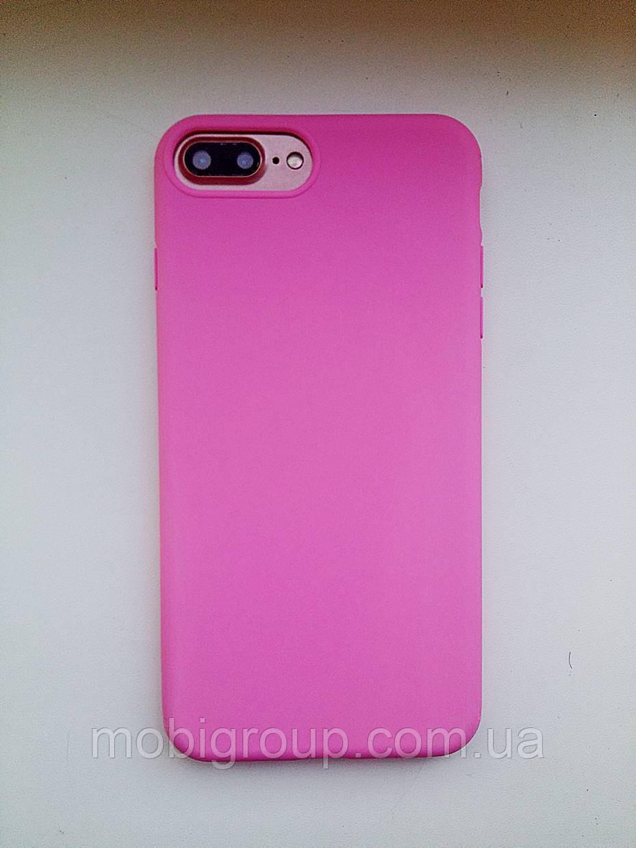 Силиконовый плотный матовый чехол iPhone 8 Plus