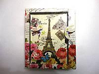 Блокнот с замочком Париж для девочек