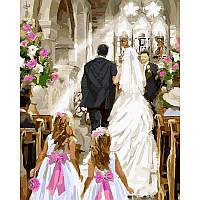 "VP814 Картина по номерам ""Свадебная церемония"", 40*50 см, Babylon Turbo"