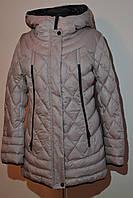 Зимняя куртка пуховик Mishele 7630 48, 50 размер, фото 1