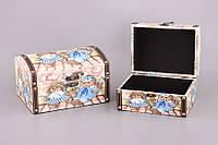 Набор шкатулок Lefard Два медвежонка из 2 шт. 23х18х14 см, 20х15х12 см, 187-128