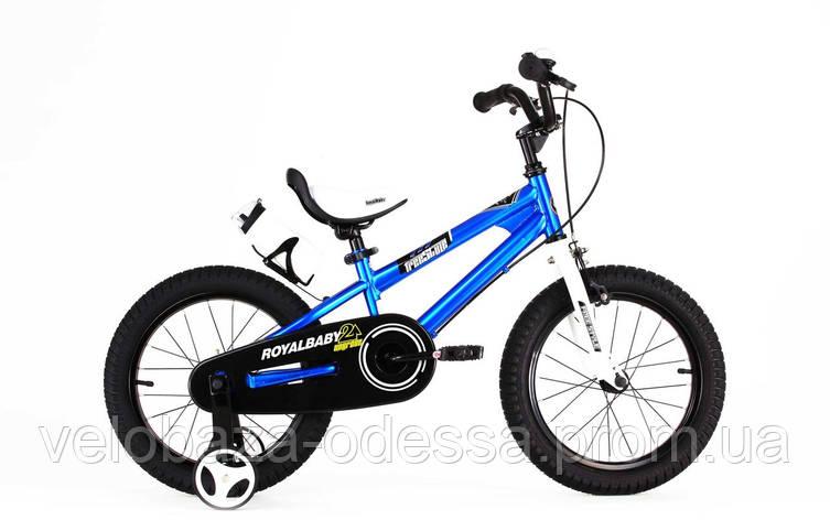 "Велосипед RoyalBaby FREESTYLE 12"", синий, фото 2"