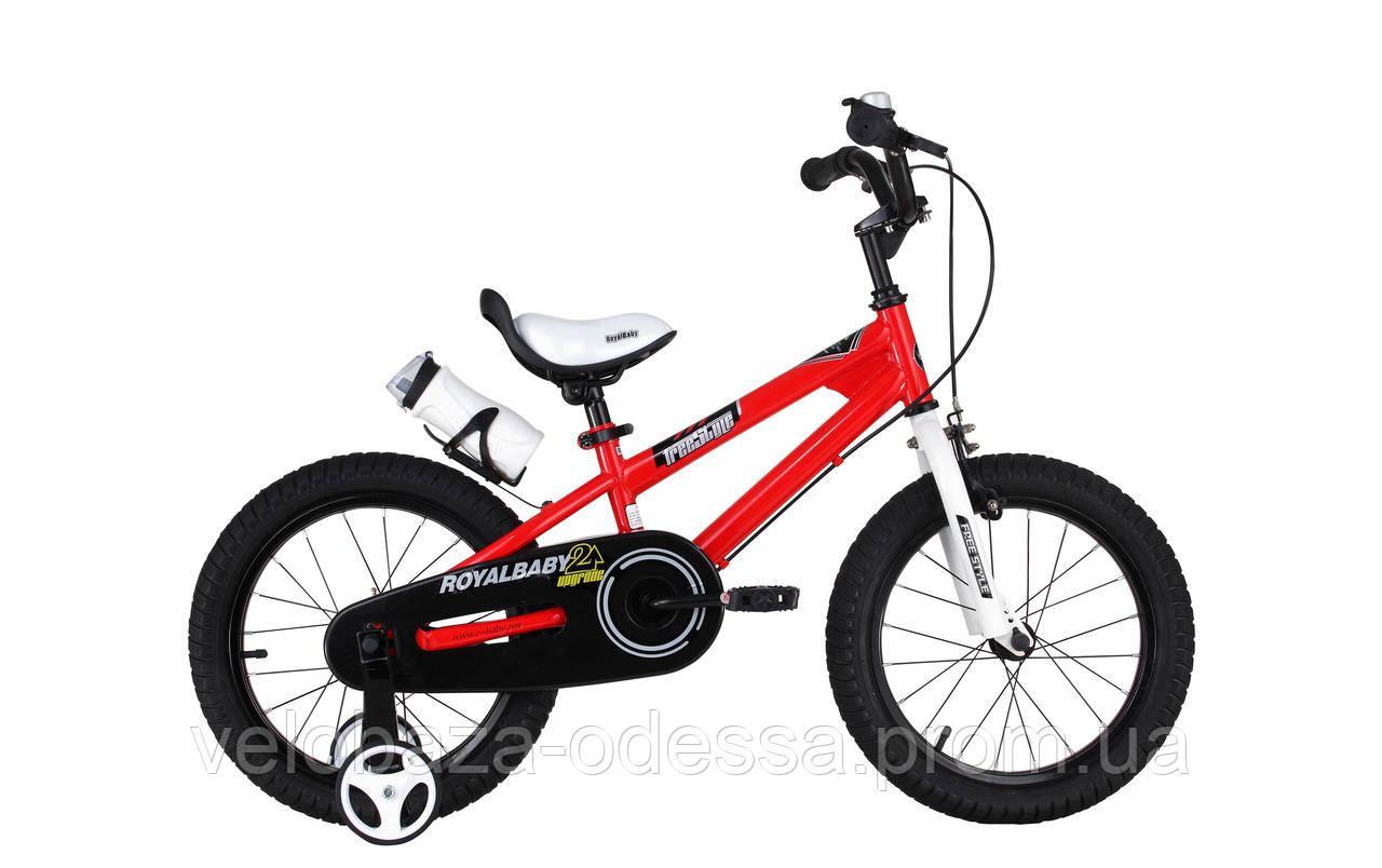 """Велосипед RoyalBaby FREESTYLE 12"""", красный"""