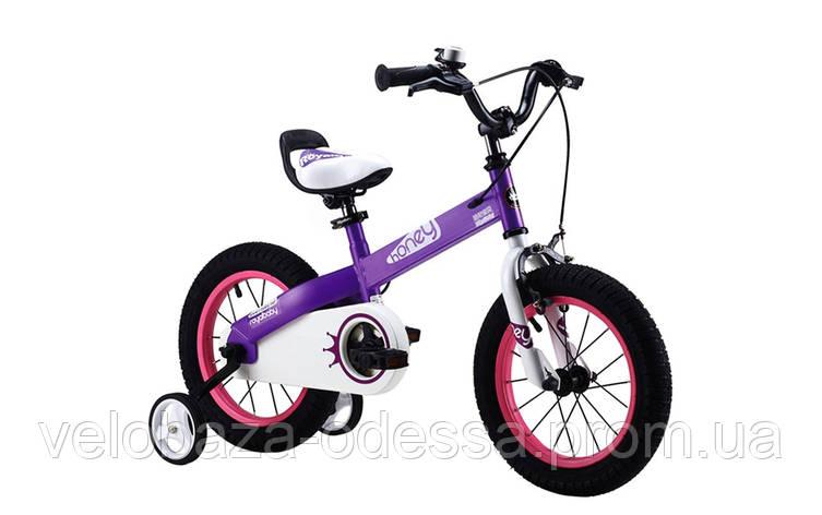 """Велосипед RoyalBaby HONEY 14"""", фиолетовый, фото 2"""