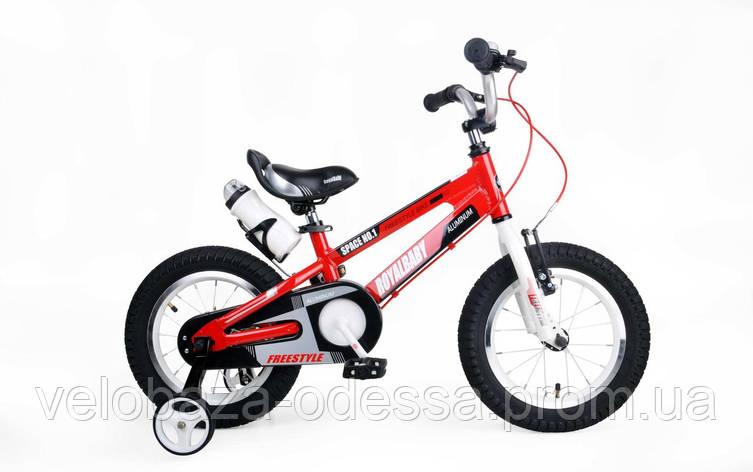 """Велосипед RoyalBaby SPACE NO.1 Alu 14"""", красный, фото 2"""