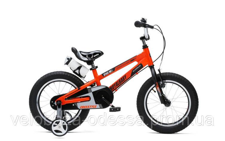 """Велосипед RoyalBaby SPACE NO.1 Alu 14"""", оранжевый, фото 2"""