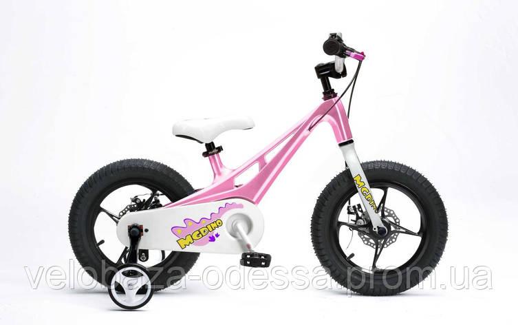 "Велосипед RoyalBaby MGDINO 14"", розовый, фото 2"