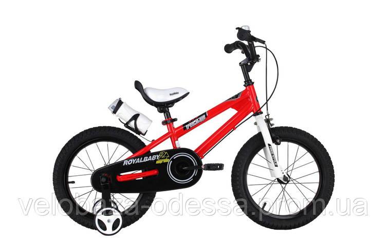 """Велосипед RoyalBaby FREESTYLE 14"""", красный, фото 2"""