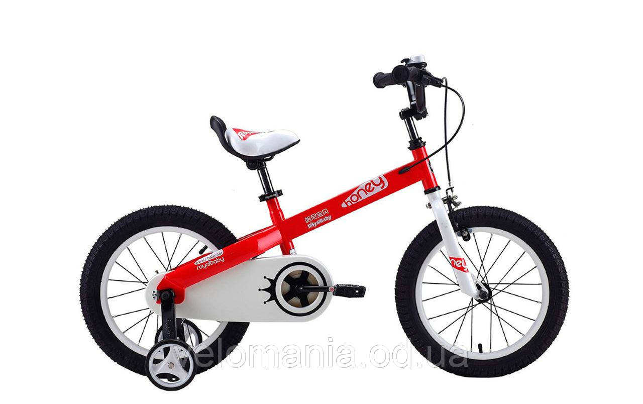 """Велосипед RoyalBaby HONEY 16"""", красный"""