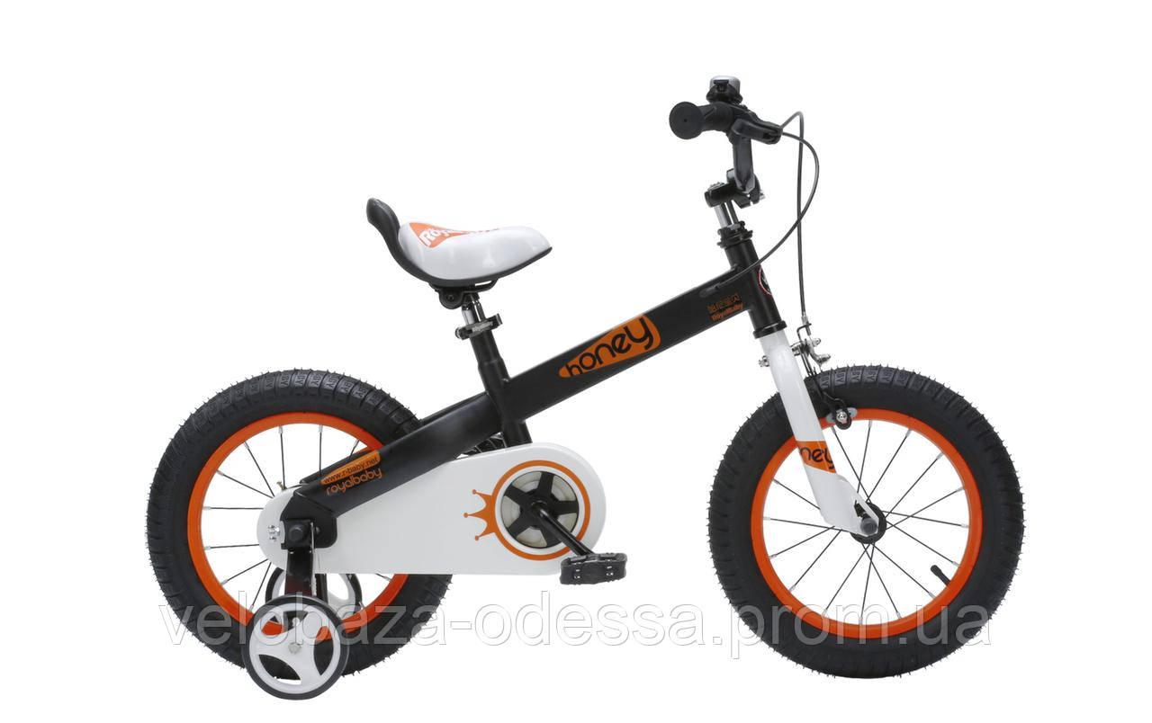 """Велосипед RoyalBaby HONEY 18"""", черный"""