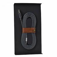Модный и стильный кабель Lightning Santa Barbara Polo MFI 1.5m Разные цвета. Отличный подарок на 8 Марта