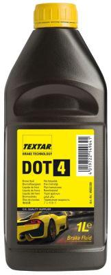 Тормозная жидкость TEXTAR DOT4  1L