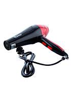 Профессиональный фен Domotec MS-968 2200W, Мощный фен для волос, Фен для сушки волос, Хороший фен для волос