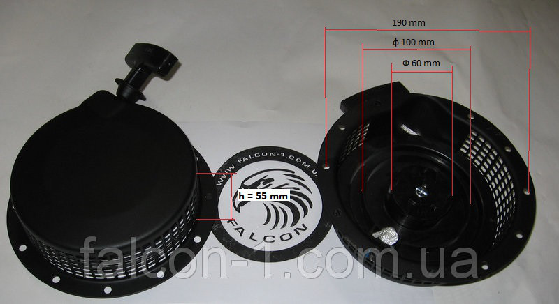 Стартер Yamaha MZ360, MZ175 EF6600 185F, ЕР2500, ЕР4500, ЕР6500 (111245, 918615) для Ямаха, Нева