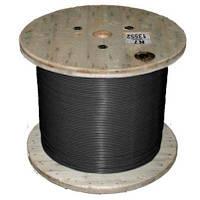 Кабель нагрівальний одножильний відрізний Nexans TXLP BLACK (DRUM) 0.2 Ohm/m Black