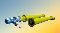 Погрузчик для цемента Ø270*9000 до 30 т/час.
