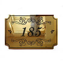Номерки на дверь Gold, фото 2