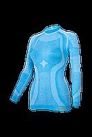 Женская термокофта с шерстью мериноса HASTER MERINO WOOL зональное бесшовное шерстяное термобелье